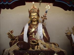 statue of Guru Rinpoche (Padmasambhava), Ladakh, India