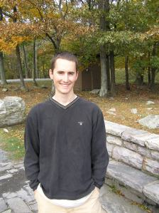 Kirby after hiking in Maryland, Oct 2009