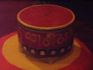 the Lama's prayer wheel