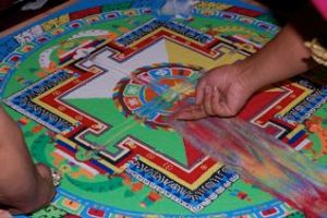 further dissolution of sand mandala