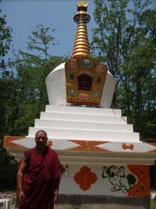 Drupon at Stupa in Frederick Maryland