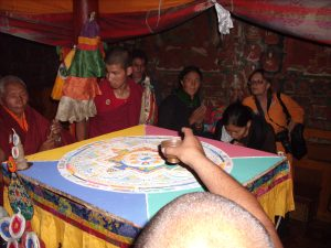 Sand Mandala at Phyang Gompa, June 2008