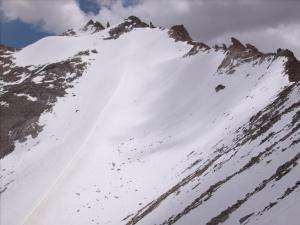 Glacier above Leh, Ladakh, India, 18,500 ft
