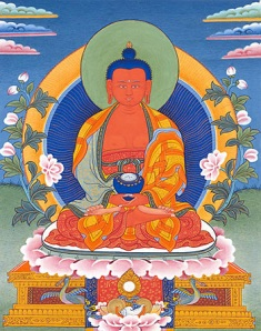 Amitabha Buddha, of Boundless Light