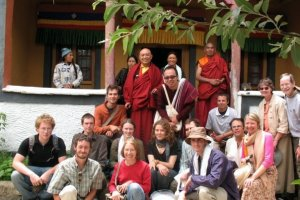 Ladakh group, Lamayuru gompa, sums up our pilgrimage experience