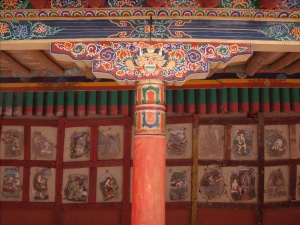 Some of the 84 Mahasiddhas, Hemis Gompa, Ladakh