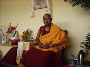 Khenpo Tsultrim Tenzin in Charlottesville (July '09)