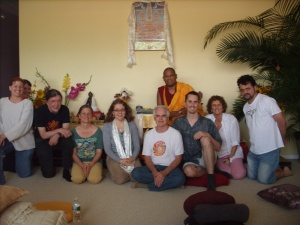 A group picture from Khenpo's teachings (July '09)
