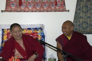 How much vast, spacious, open heart is in a room full of Tibetan Lamas?