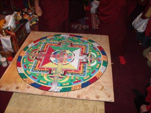 look closely - the mandala is dissolving