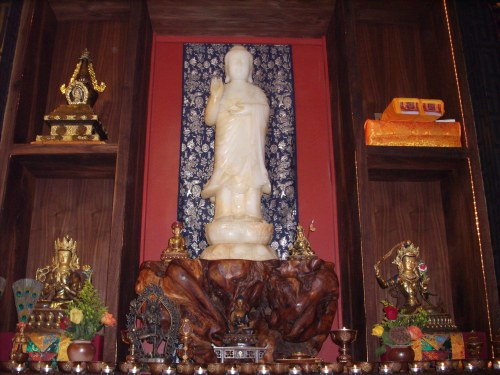 Large Statue of Maitreya at UD