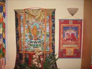 Manjushri Thangka at Tashi Choeling